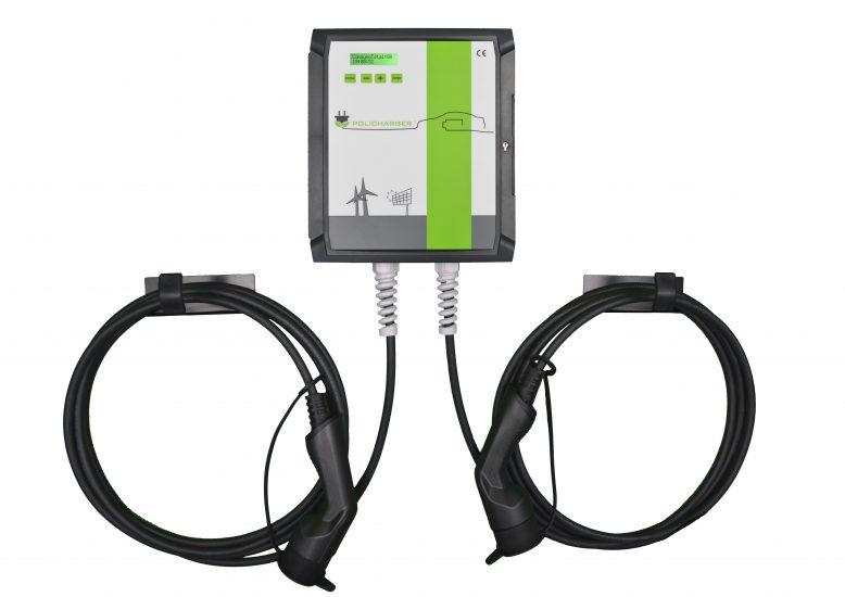 Wallbox POLICHARGER PRO-DBLT23F -cargador-de coche- jovitel